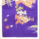 京都名所三つ紋訪問着 上前