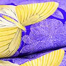 バラの花と蝶々の小紋 質感・風合