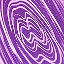 マーブル模様の袷小紋 質感・風合