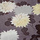 鳩羽鼠色白菊の付下 質感・風合