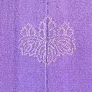 古代紫地唐子の訪問着 背紋