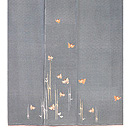 雀の刺繍江戸小紋 上前
