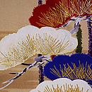三色笠松紋絵羽織 質感・風合