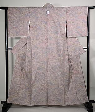 白絣100亀甲重要無形文化財結城紬