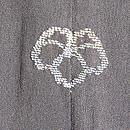 黒地梅文様羽織 背紋