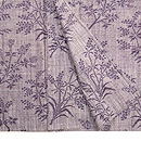 野花の絣経節紬単衣 上前