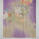 桜文様若紫色留袖 上前