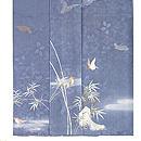 竹に雀の図付下 上前