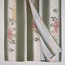藤の花の単衣小紋 上前