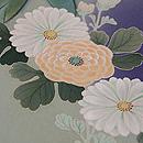 菫色牡丹の色留袖 質感・風合