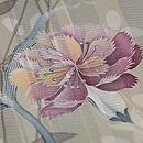 花浅葱蜻蛉三つ紋付下 質感・風合
