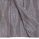 変りアキファテ紋絣宮古上布 上前