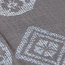 菱と丸紋絣宮古上布 質感・風合
