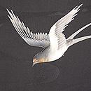 波間に燕の夏羽織 質感・風合