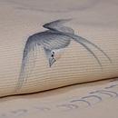 波に燕絽縮緬小紋 質感・風合