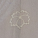 流水に燕の図単衣付下 背紋