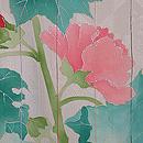 芙蓉の単衣絵羽織 質感・風合