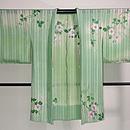 経絽鉄線三つ紋単衣羽織 正面