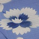 萩と桔梗の絽縮緬小紋 質感・風合