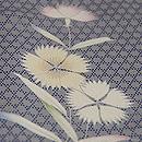襷に丸紋撫子単衣小紋 質感・風合