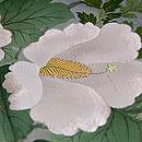 すすきと四季の花三つ紋色留袖単衣 質感・風合