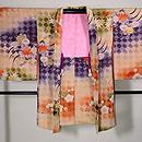 網代紋に梅、菊、紅葉の羽織 正面