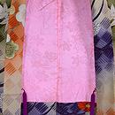 網代紋に梅、菊、紅葉の羽織 羽裏