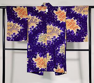 菊と椿の羽織