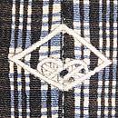 翁格子に能装束の図付下 背紋
