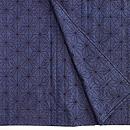 綿薩摩麻の葉紋単衣 上前