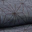 綿薩摩麻の葉紋単衣 質感・風合