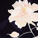 黒地バラの羽織 質感・風合