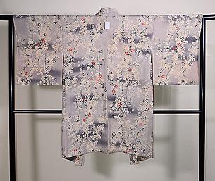 枝垂れ桜の羽織