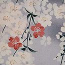 枝垂れ桜の羽織 質感・風合