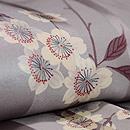 しだれ桜の図小紋 質感・風合