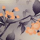 桜に蝶々の羽織 質感・風合