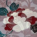 杏葉牡丹一つ紋訪問着 質感・風合