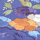 四季の花々刺繍名古屋帯 質感・風合