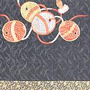 毬と鈴名古屋帯 前中心