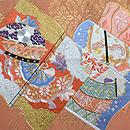 絵巻刺繍開き名古屋帯 前中心