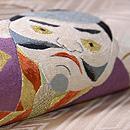 凧の刺繍袋帯 質感・風合