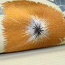 アザミの刺繍帯 質感・風合