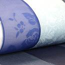 ポジャギの帯(青色) 質感・風合