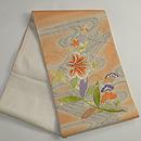 花筏の刺繍袋帯 帯裏