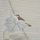へちまに雀と蝶々夏袋帯 質感・風合