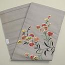 撫子刺繍絽名古屋帯 帯裏