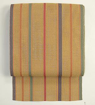 細縞羅織開き名古屋帯