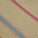 細縞羅織開き名古屋帯 質感・風合