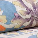 青と白海松の染め帯 質感・風合