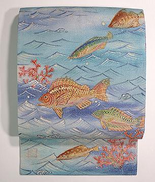 魚たちの海中散歩名古屋帯